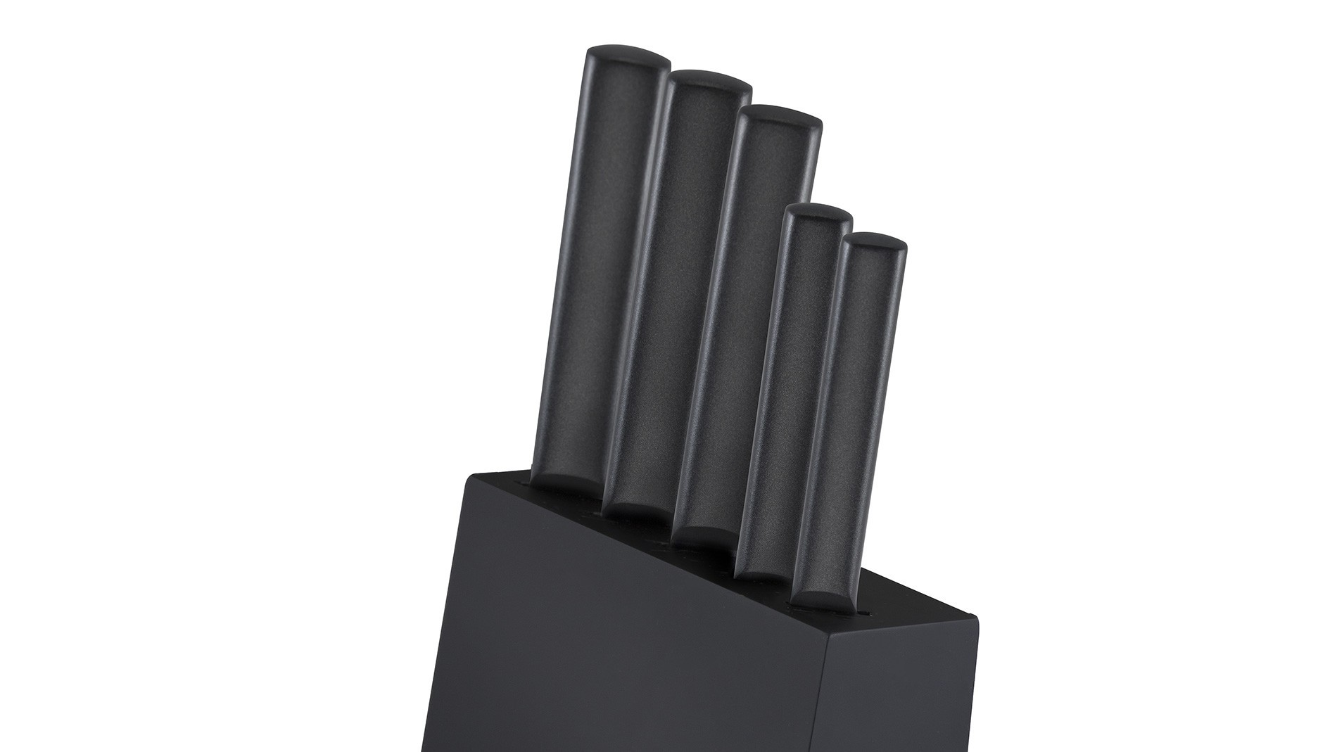 A set of AMBIENTE BLACK knives