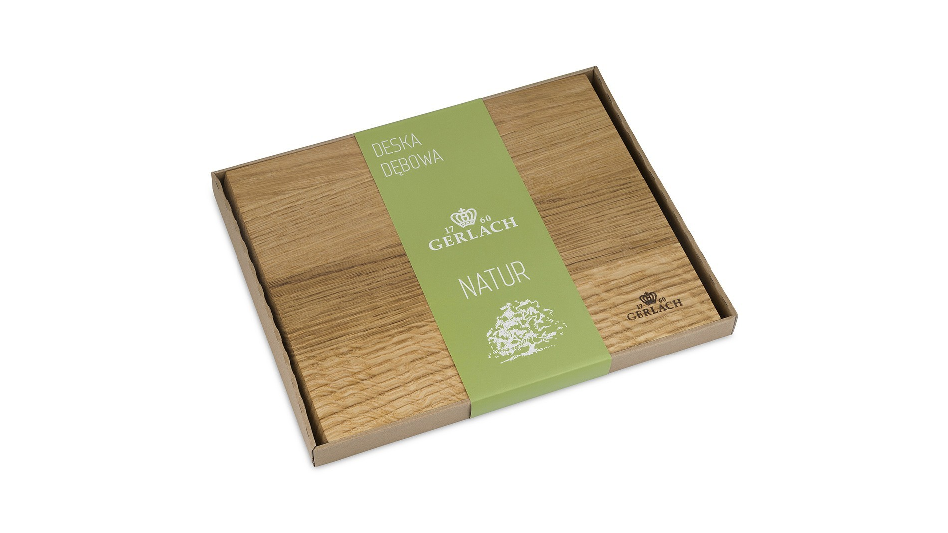 An oaken cutting board – NATUR
