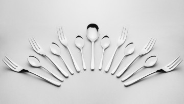 Cutlery Set, 68 pcs – gloss MUZA + FREE DELIVERY