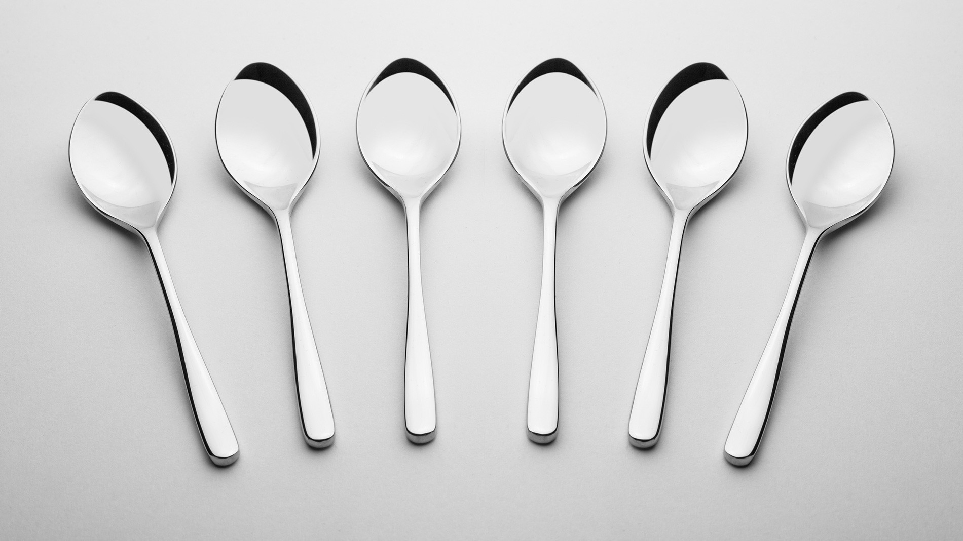 Coffee spoons, 6 pcs – gloss MUZA