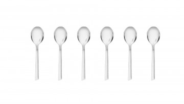 Coffee spoons, 6 pcs – FLAMES