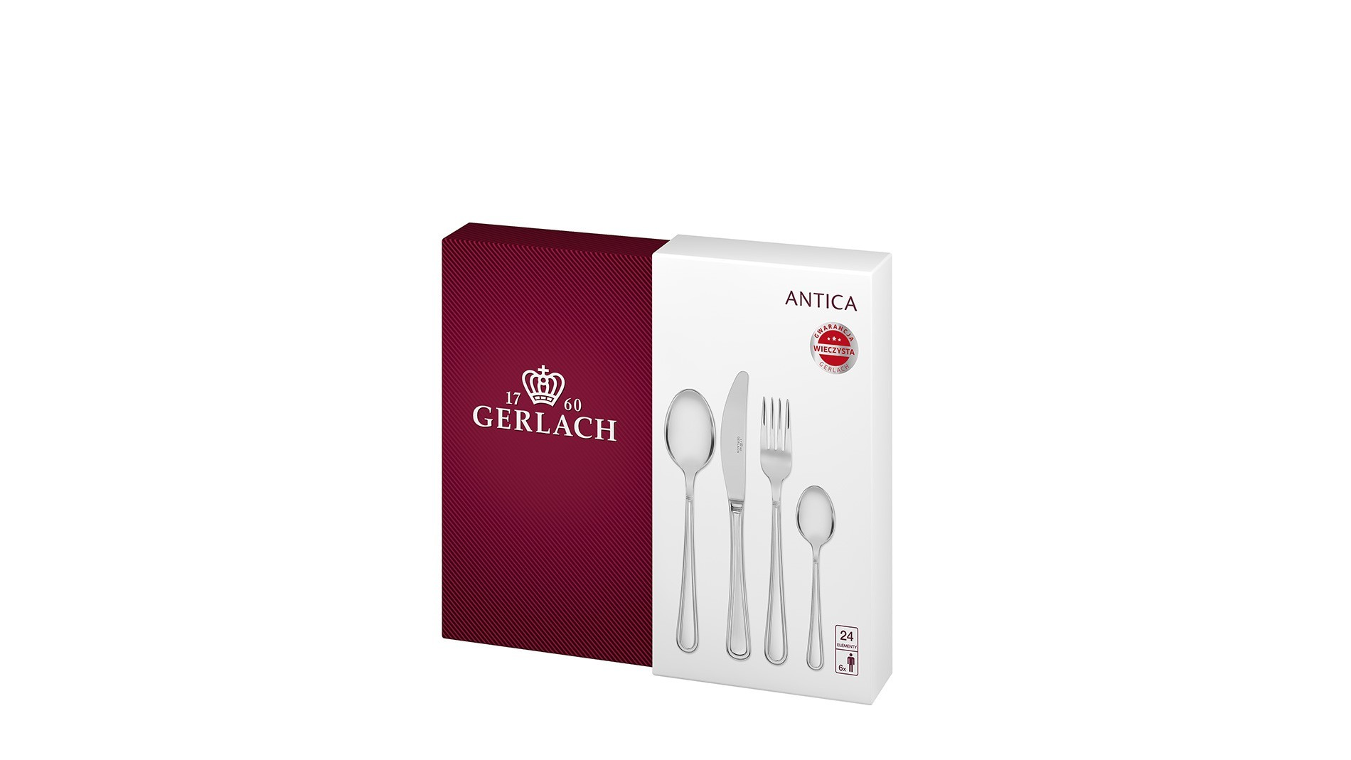 Cutlery Set, 24 pcs – ANTICA
