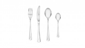 Cutlery Set, 24 pcs gloss– VALOR
