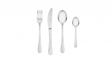 Cutlery Set, 24 pcs – gloss MANGO