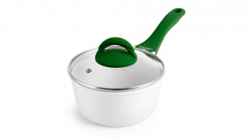 Saucepan with ceramic coating + lid – VITALITY