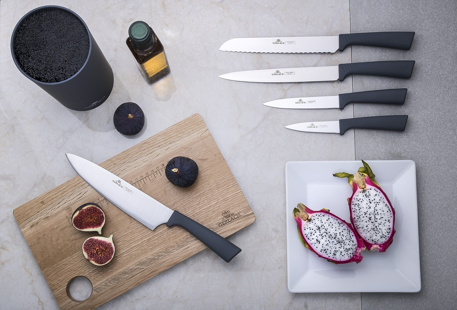 A SMART GREY kitchen knife