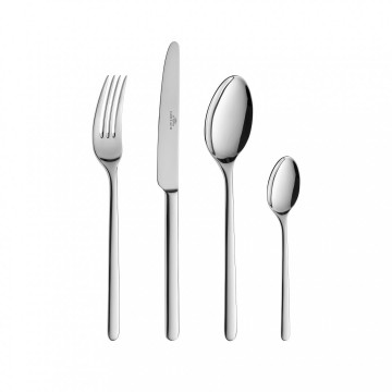 Cutlery Set, 24 pcs – gloss FJORD