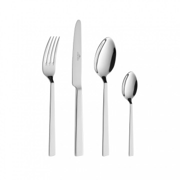 Cutlery Set, 24 pcs – gloss FOSS