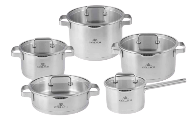10-element set of pots – Prestige Plus