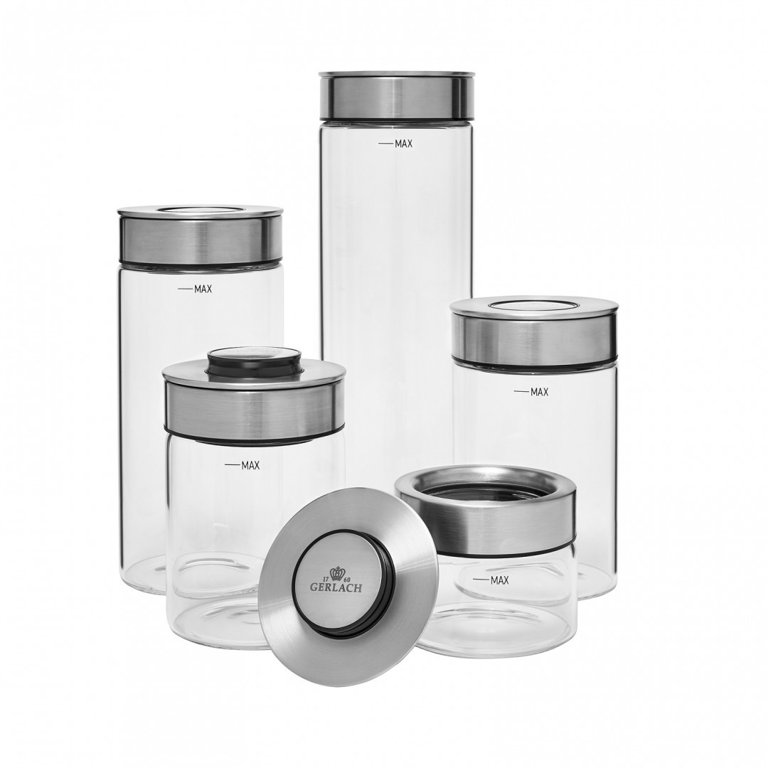 A 5-elements set of containers - Ambiente