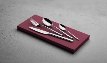 STUDIO 24-piece glossy cutlery set