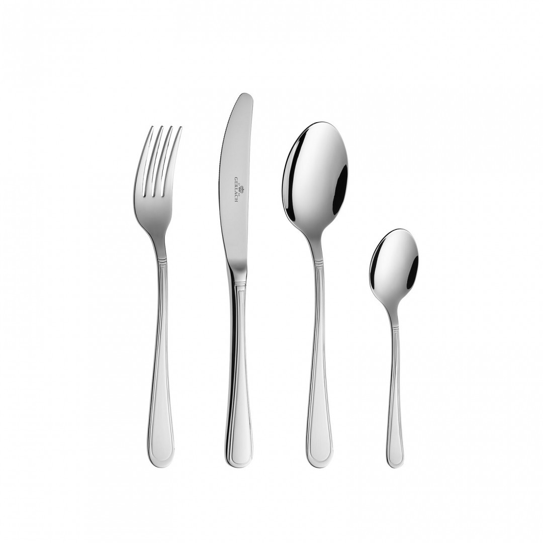 Cutlery Set, 80 pcs – ANTICA gloss+ case