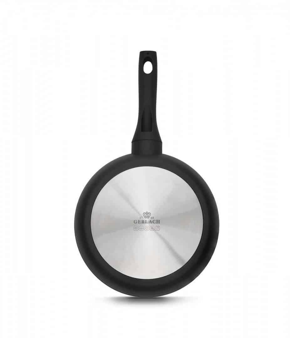 3x Frying pan with ceramic coating 20/24/28 cm – GRANITEX